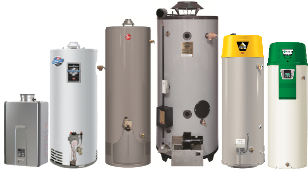 Image result for different water heaters
